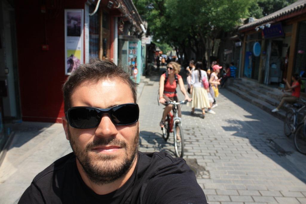 Apr�s 4 semaines, arriv�e � Tian'anmen ! | Destination Ailleurs
