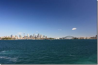 Sydney depuis le ferry