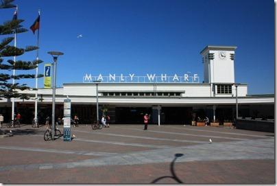 La jetée de Manly
