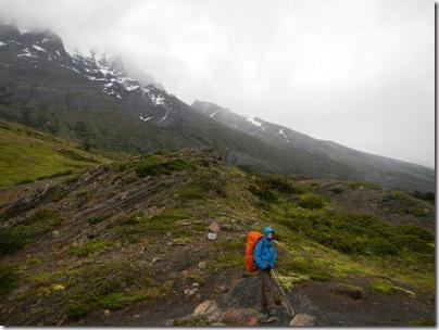 Torres del Paine sous la pluie