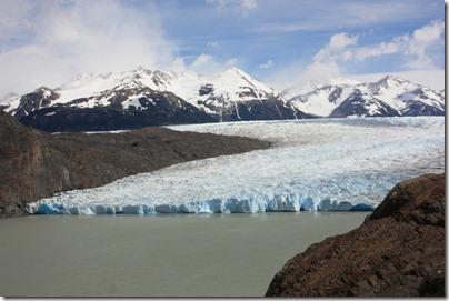 Le glacier Grey