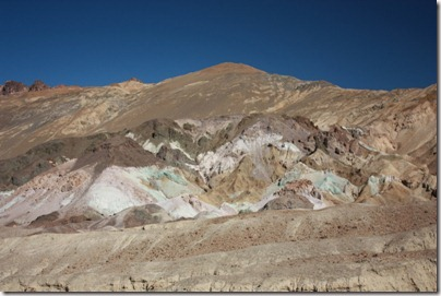 Death Valley - La palette de l'artiste