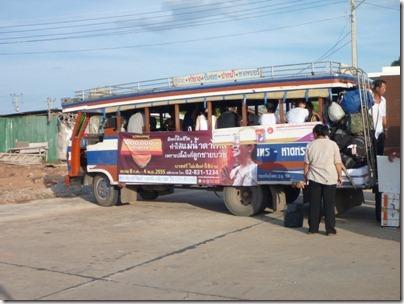 Notre bus pour la liaison port - gare